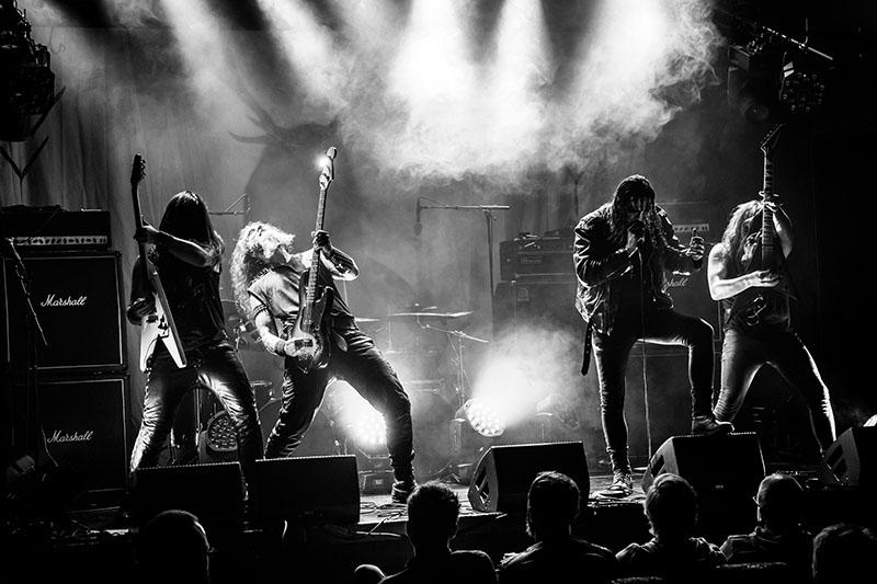 Fra konserten med Gaahls Wyrd under MiniMalakoff. Foto: Sigve Bochmann Rasmussen