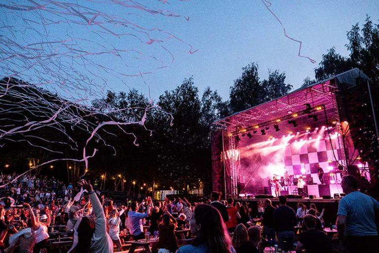 Fra konserten med Dagny fredag 23.juli 2021. Foto: Sigve Brochmann Rasmussen.